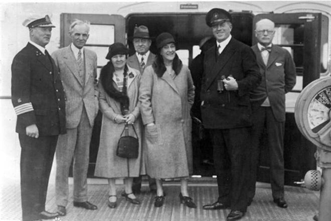1930年福特在德国