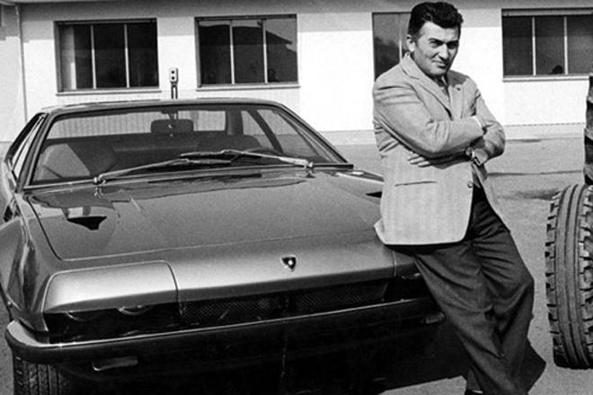 兰博基尼和他的车