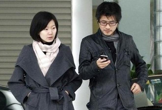 韩寒和妻子金丽华