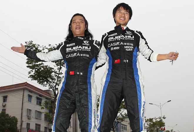 2012年获得中国拉力赛冠军