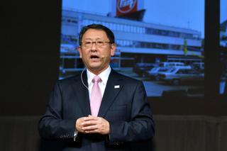丰田汽车公司总裁,丰田创始人之孙