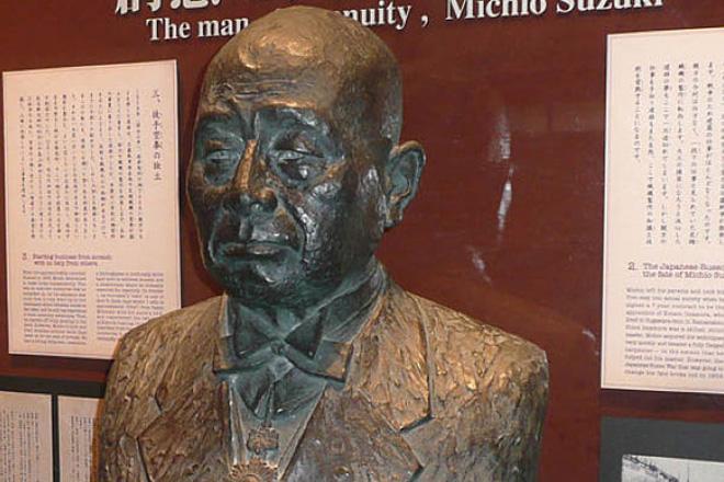 铃木先生雕塑